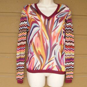 MISSONI FOR TARGET Sweater/Top, S, Sheer & Knit